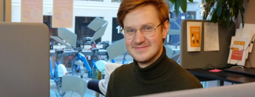 Mathias Kristiansen politisk rådgiver i UngOrg